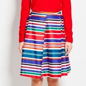 Pink Tartan Cabana Stripe Skirt size 10